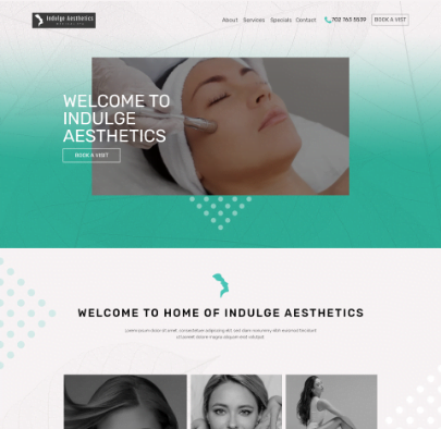 Indulge Aesthetics - Our Client