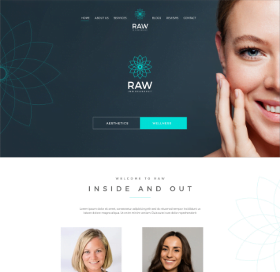 Raw Inside And Out - Our Client